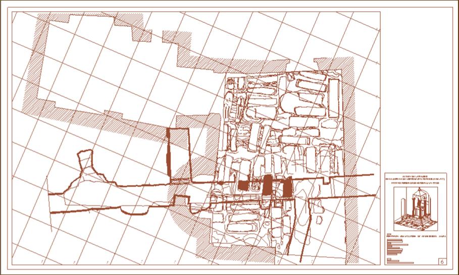 Bolsena – Altare del Miracolo – Planimetria di strato