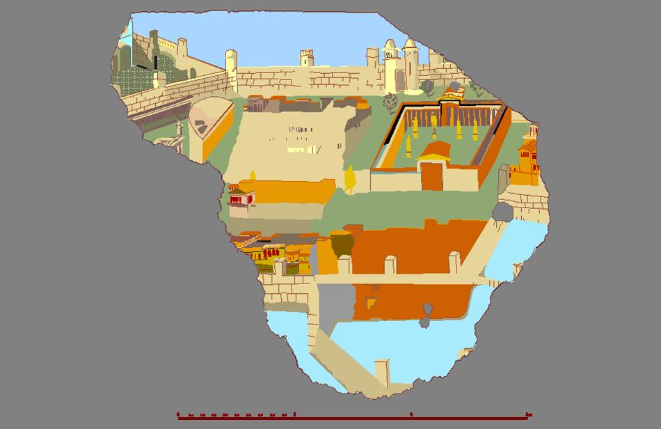 Roma Terme di Traiano – Città Dipinta