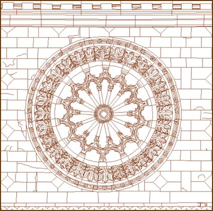 Basilica di Collemaggio – Rosone