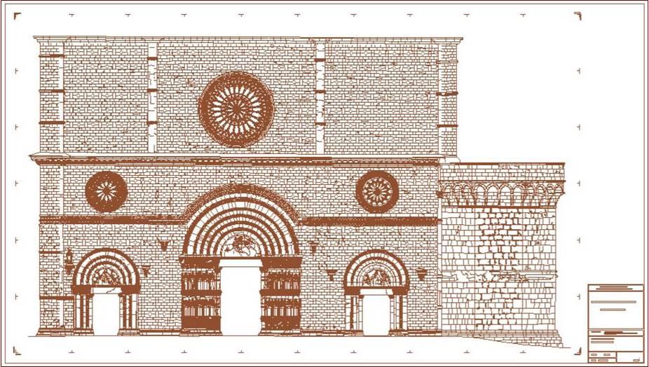 Basilica di Collemaggio – Facciata Principale
